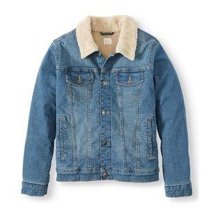sherpa trucker jean jacket